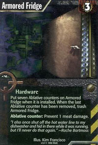 Netrunner Armored Fridge