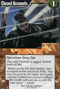 Netrunner Closed Accounts