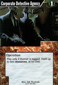 Netrunner Corporate Detective Agency