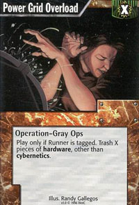 Netrunner Power Grid Overload