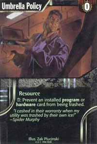 Netrunner Umbrella Policy