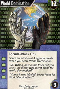 Netrunner World Domination