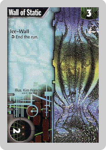Old Wall of Static Card